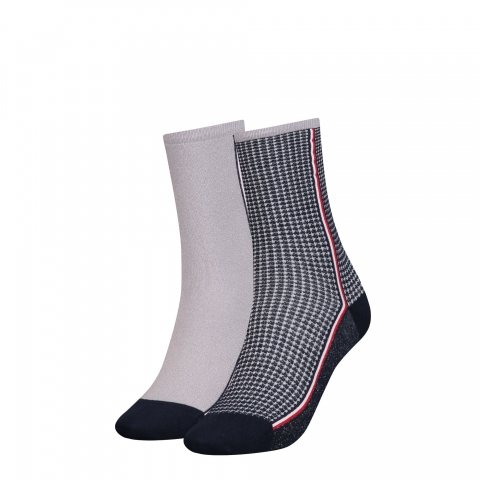 Pack 2 calcetines mujer, Tommy Hilfiger.